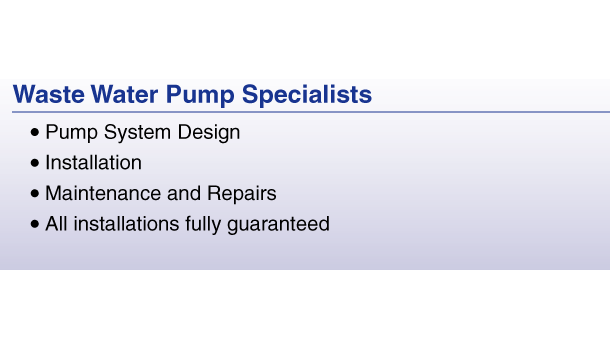 Wastewater Pump Specialists